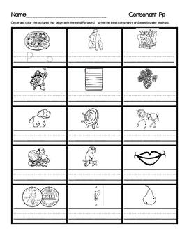 Saxon Letter Sound Assessment Set 1  Ll, Oo, Gg. Hh. Tt. Pp