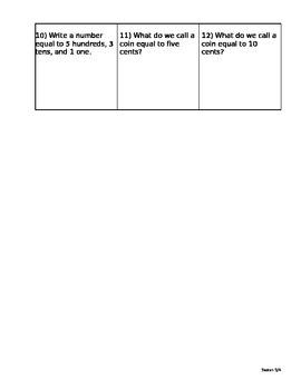 Saxon Math 5/4 Homework Paper Lesson 4