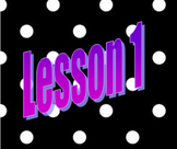 Saxon Math Algebra I Lesson 1 Video and Guided Notes