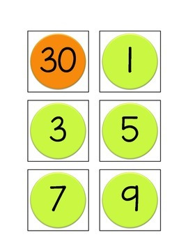 Saxon Math Calendar Cards-SEPT