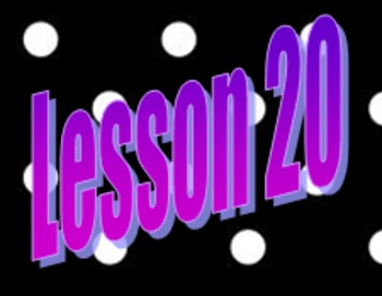 Saxon Math Course 3 Lesson 20 Video and Guided Notes