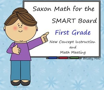 *Saxon Math for the SMART Board:  First Grade GIANT BUNDLE!