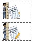 Saxon Math (Grade 1) Journal Writing- Lessons 1-60