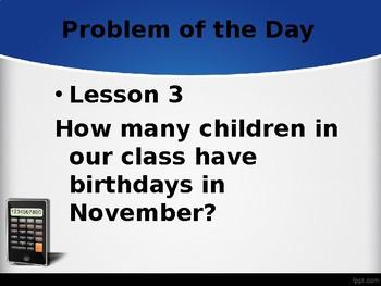 Saxon Math Grade 2 Volume 1 - Problems of the Day