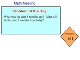 Saxon Math Grade 4 Kit Smartboard Lesson 1