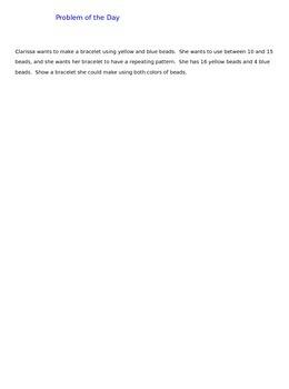 Lesson 50-2 Assessment