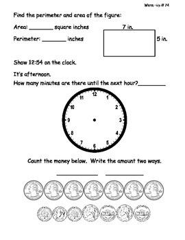 Saxon Math Morning Meeting Lessons 71 - 80-2