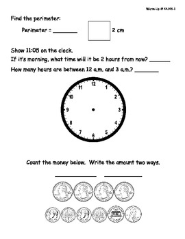 Saxon Math Morning Meeting Lessons 41 - 50-2