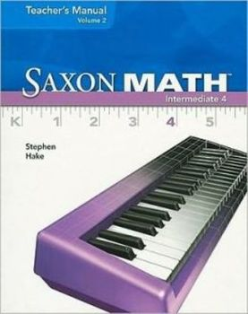Saxon Math intermediate 4 glossary spreadsheet