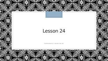 Saxon Phoncs 2nd Grade Lesson 24