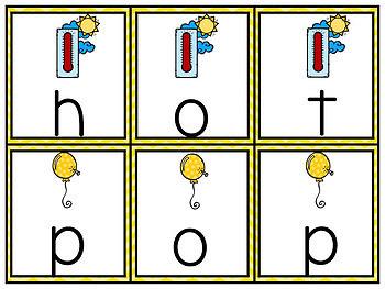 Phonics Centers Kindergarten Set 2 ( T, P, A, N)