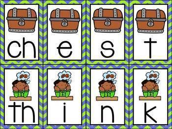Phonics Centers Kindergarten Set 10