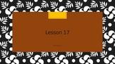 Saxon Phonics 2nd Grade Lesson 17