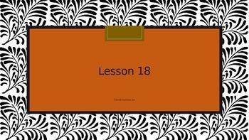 Saxon Phonics 2nd Grade Lesson 18