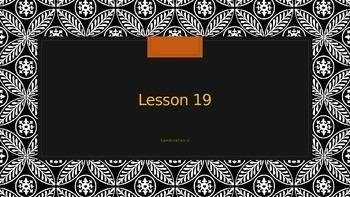 Saxon Phonics 2nd Grade Lesson 19