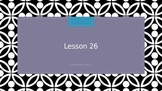 Saxon Phonics 2nd Grade Lesson 26