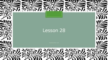 Saxon Phonics 2nd Grade Lesson 28