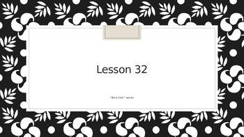 Saxon Phonics 2nd Grade Lesson 32