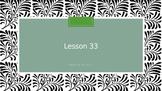 Saxon Phonics 2nd Grade Lesson 33