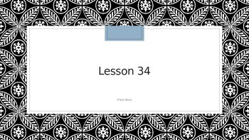 Saxon Phonics 2nd Grade Lesson 34