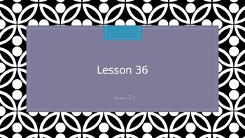 Saxon Phonics 2nd Grade Lesson 36