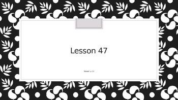 Saxon Phonics 2nd Grade Lesson 47