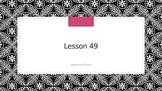 Saxon Phonics 2nd Grade Lesson 49