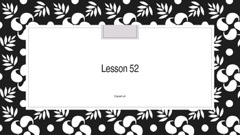 Saxon Phonics 2nd Grade Lesson 52