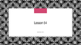 Saxon Phonics 2nd Grade Lesson 54