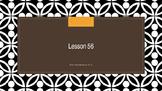 Saxon Phonics 2nd Grade Lesson 56
