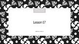 Saxon Phonics 2nd Grade Lesson 57
