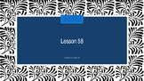 Saxon Phonics 2nd Grade Lesson 58