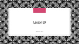 Saxon Phonics 2nd Grade Lesson 59