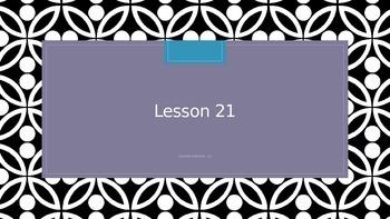 Saxon Phonics 2nd grade Lesson 21