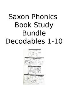 Saxon Phonics Book Study: Grade 1, Bundle (Decodable Readers 1-10)