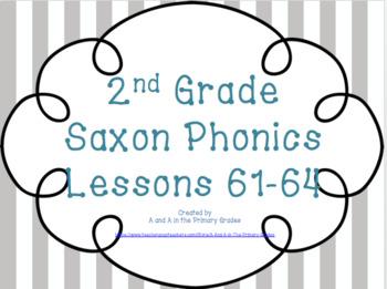 2nd Grade Saxon Phonics Lessons 61-64