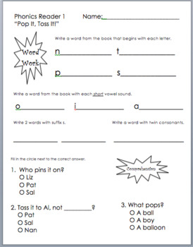 Magic image for printable decodable books for first grade