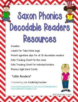 Saxon Phonics Decodable Readers Resource Pack Kdg with Reading Kids