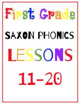 Saxon Phonics First Grade Lessons {11-20}