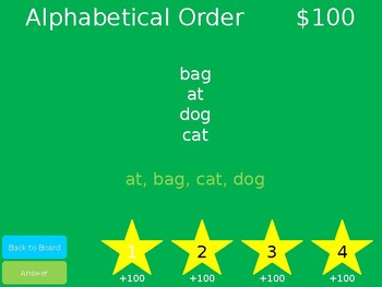 Saxon Phonics Jeopardy