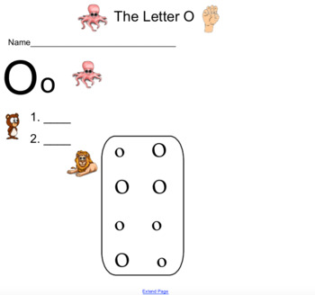 Kindergarten Saxon Phonics Lessons 6-10