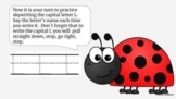 Saxon Phonics Kindergarten Week 1 Lessons 1-5 Google Slides editable slide