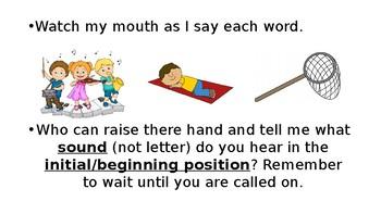 Grade 1, Saxon Phonics Lesson 1