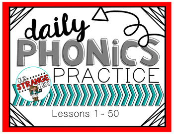 Saxon Phonics Lessons: 1-50
