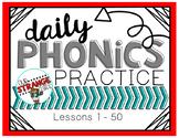 Saxon Phonics Lessons: 1-50