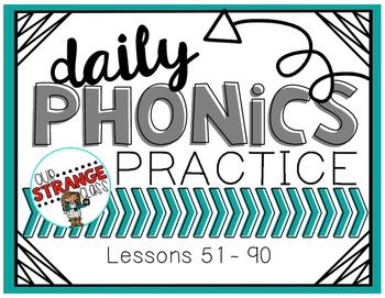 Saxon Phonics Lessons: 51-90