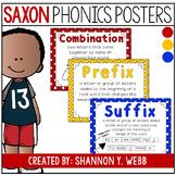Saxon Phonics Posters (Primary Polka Dot)