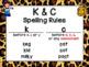 Saxon Phonics Rule Posters {animal print}