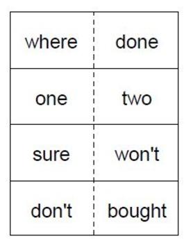 Saxon Phonics Sight Word Flash Cards (First Grade)