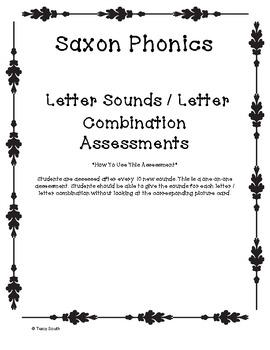 Saxon Phonics Sound Assessment